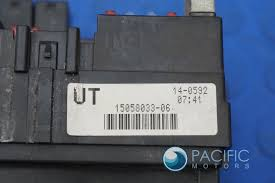 fuse relay terminal box trailering flasher module 15058033 fuse relay terminal box trailering flasher module 15058033 hummer h2 2003 07