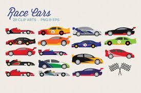 Race Cars Clipart