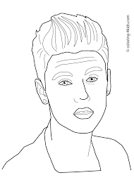Justin Bieber Coloring Pages That You Can Printlll L