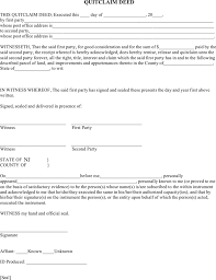 new jersey deed form download new jersey quitclaim deed form 2 for free tidyform
