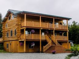 alaska knotty pine lodge bed and breakfast in palmer ak