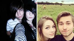 before and after this is what happens when emo kids grow up