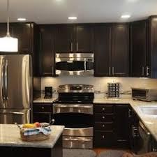 dark cabinet kitchen designs. Perfect Cabinet Raleigh Kitchen Remodel U0026 Expansion  Modern Kitchen Raleigh  GreyHouse Inc For Dark Cabinet Designs