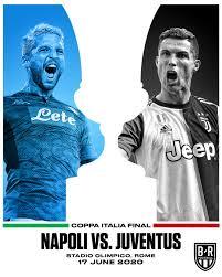 Napoli e juventus si ritroveranno in finale per la seconda volta nella storia della coppa nazionale. B R Football On Twitter Napoli Vs Juventus The Coppa Italia Final Is Set