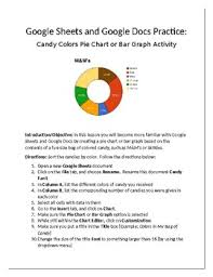 How To Make Pie Chart In Google Sheets Google Sheets Google Docs Practice Candy Pie Chart Bar Graph Activity