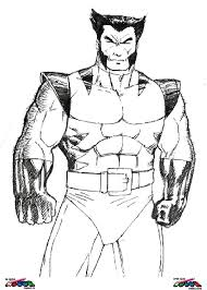 Small Picture wolverine coloring pages