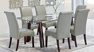 green dining room furniture. Driscoll Espresso 5 Pc Dining Room Green Furniture