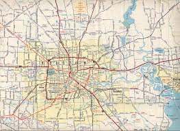 texasfreeway  houston  historical information  old road maps
