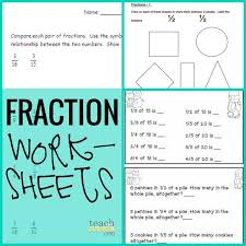 2 Grade Fractions Worksheets for all | Download and Share ...