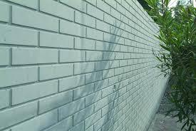 enclosure wall form liner imitation brick stamped concrete