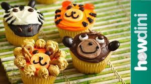 Birthday Cake Ideas Monkey Lion Zebra Cupcake Ideas Youtube