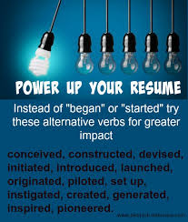 Action Words For Resume Classy Powerful Resume Action Words