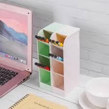 1 Pcs Desk Stationery Organizer Pen <b>Pencil Holder Storage Box</b> ...