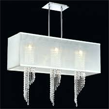 chandeliers chandelier with white shade rectangular furniture hanging modern shades and crystal for contemporary bedroo
