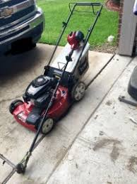 weed eater lawn tractor. lawn mower and weed eater, toro, 22in recycler, self propelled, gas eater tractor s