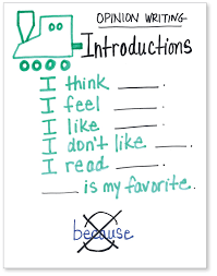 Beginning Middle End Anchor Chart Identify The Beginning Middle End Of Pk 1 Opinion Writing