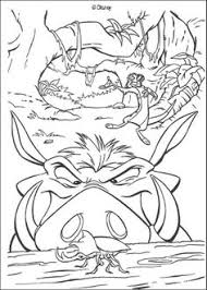 Small Picture Evil Scar The Lion King Coloring Page Coloring 4 Kids Disney