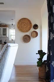decor baskets on wall basket wall decor