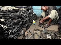 Nairobi startup turns old tyres into <b>trendy footwear</b>