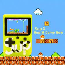 máy chơi game cầm tay nintendo mini SUP 400 in 1 mới FULL BOX – TUỔI THƠ DỮ  DỘI - Nintendo Sup400