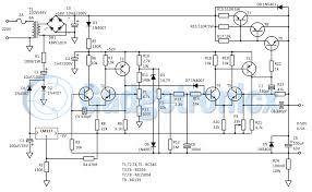 Power Supply Design Using Lm317 Bench Power Supply Circuit Wiring Schematic Diagram Www