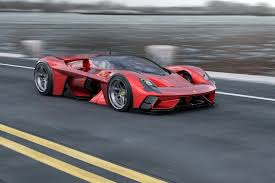 I Could Watch This Absolutely Gorgeous Ferrari F399 Concept Drive Down The Lemans All Day Long Yanko Design