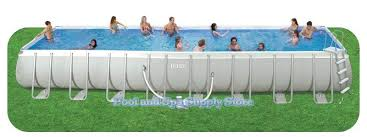 Intex Above Ground Pool 32 x 16 x 52 Frame Set Pool Model 28335EH