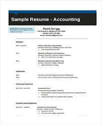 10 Accounting Curriculum Vitae Templates Pdf Doc Free