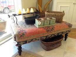 ottoman coffee tables oriental rug ottoman at a upholstered coffee round ottoman coffee table tray