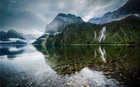 New Zealand Lake Landscape MacBook Air ...