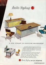 sleek office furniture. Sleek And Modern Office Furniture (1958) G