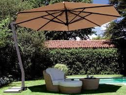 13 octagon cantilever patio umbrella