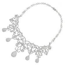 gold cartoon necklace designer las diamond necklaces chandelier necklace by luccello k gold