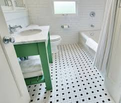 Black And White Tile Bathroom Decorating Ideas Tiles Awesome Black ...