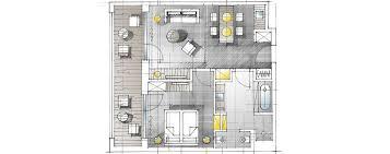 2 Raum Suite Talblick Dolomitengolf Suites Tirol