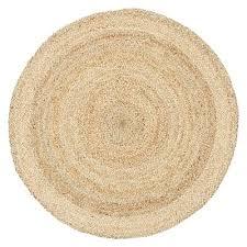 tortue jute round rug 120x120cm