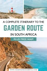 luxury garden route road trip itinerary