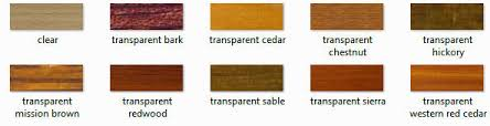 Rymar Stain Color Chart Ultra Premium Red Label Penofin