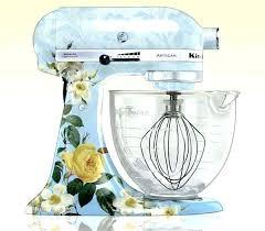 ice blue kitchenaid mixer. Kitchenaid Stand Mixer Ice Blue Cobalt Hand Used