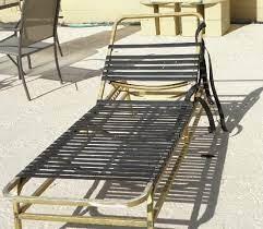 how to repair patio furniture straps