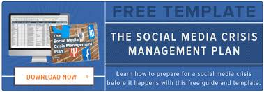 crisis management plan example how to create a social media crisis management plan free template