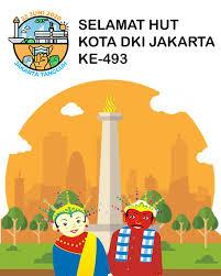 Jakarta, bawaslu provinsi dki jakarta pada tahun ini mendapatkan alokasi tambahan 6 orang cpns baru dari cpns bawaslu formasi tahun 2019. 5 Gambar Ucapan Hut Dki Jakarta Ke 493 Tahun 2020 Keren Terbaru Review Teknologi Sekarang