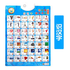 Baby Learning Chart Baby Has A Sound Wall Chart Point To Read The Pronunciation Of Toys Baby Children Learning Card Learning Math Recognition Number 1 To 100
