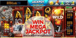 Win Mega Jackpot Online Slot Machine Mobile Casino Malaysia