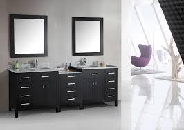 Double Mirrored Bathroom Cabinet Dark Bathroom Cabinets Wallmounted Dark Countertop White Bathroom