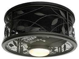 Colossal Encased Ceiling Fan Enclosed With Light Designs xplrvr