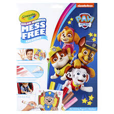 Crayon colors in 48 count crayola box. Crayola Color Wonder Paw Patrol Coloring Pages Mess Free Coloring Gift For Kids Age 3 4 5 6 Kids Arts Activities Meijer Grocery Pharmacy Home More