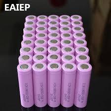 40pcs/lot 3.7V 2600mAh <b>EAIEP</b> Original 18650 rechargeable li ion ...