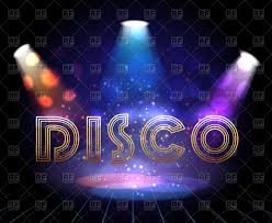 free dance flyer templates disco background with spotlights for dance show invitation for party