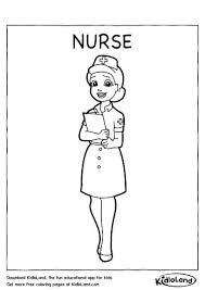 Nurse Coloring Pages For Preschool At Getdrawingscom Free For